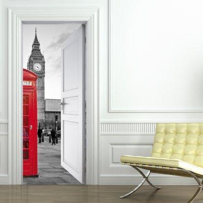 Adesivi follia stickers per porte - Adesivi decorativi per porte ...