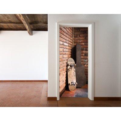 Adesivi follia adesivo per porte design for Specchi adesivi per porte