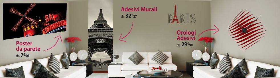 Adesivi Murali Low Cost.Adesivi Follia
