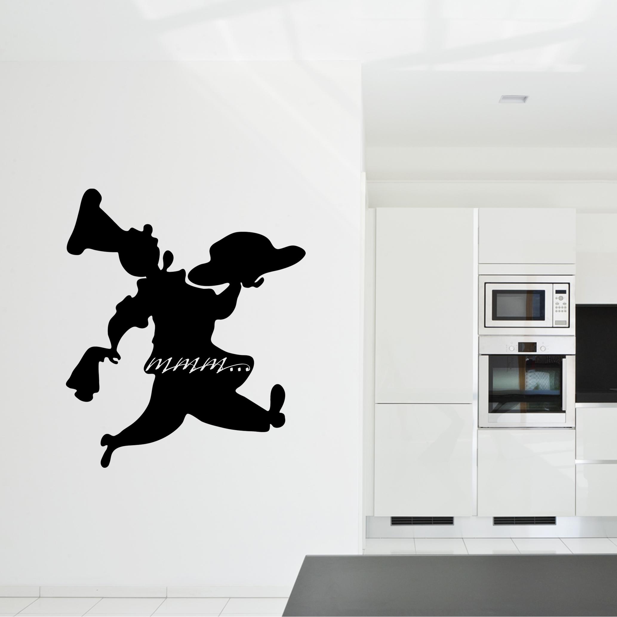 Adesivi follia adesivo lavagna cucina chef for Stickers lavagna cucina