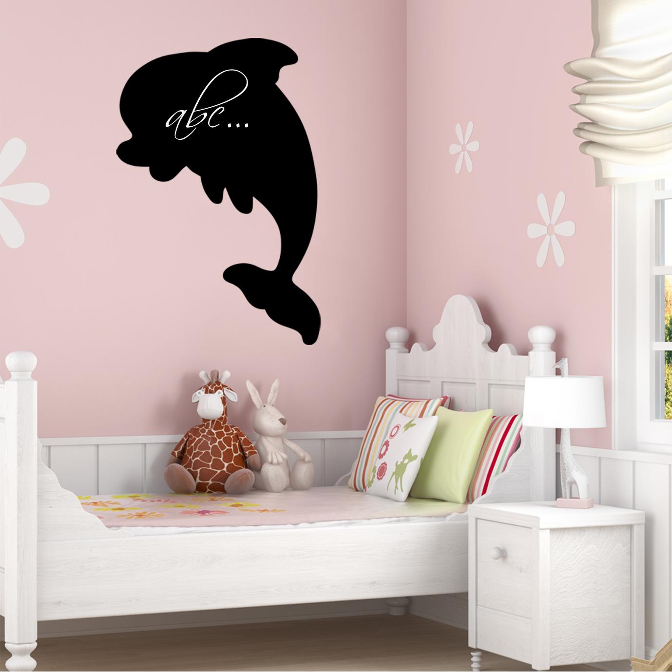 Adesivi follia adesivo lavagna delfino for Stickers lavagna cucina