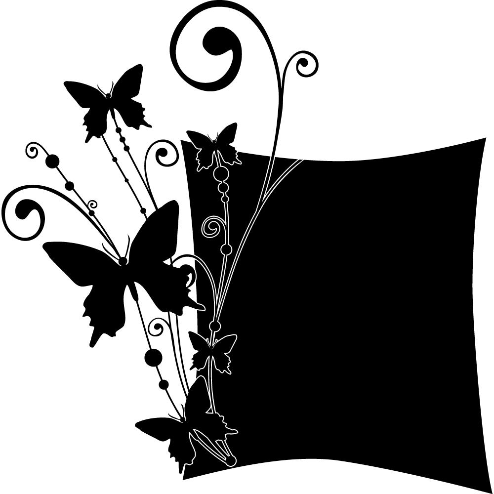 Adesivi follia adesivo lavagna farfalle for Stickers lavagna cucina