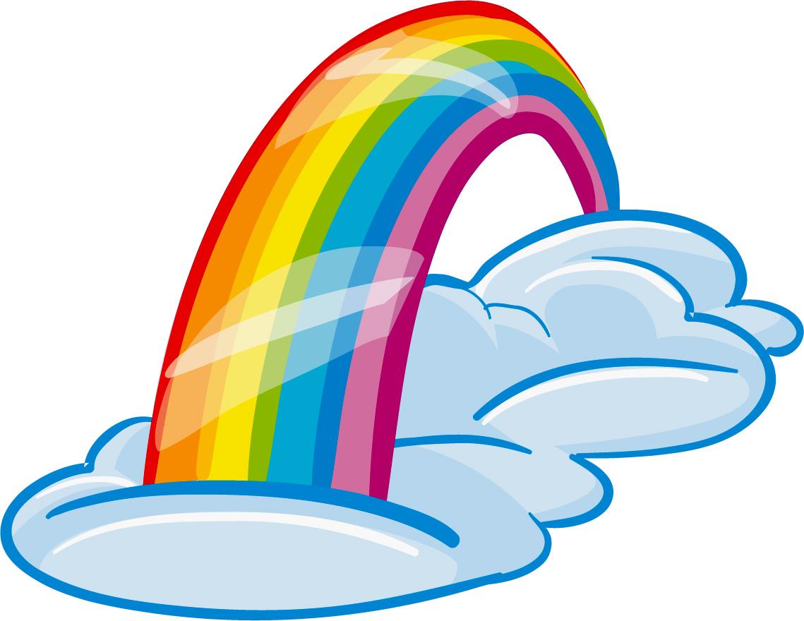 adesivi follia adesivo murale bambino arcobaleno