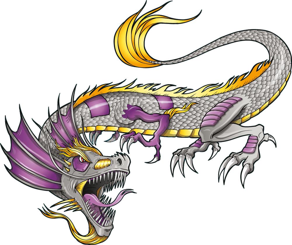 Adesivi follia adesivo murale bambino drago for Adesivi follia