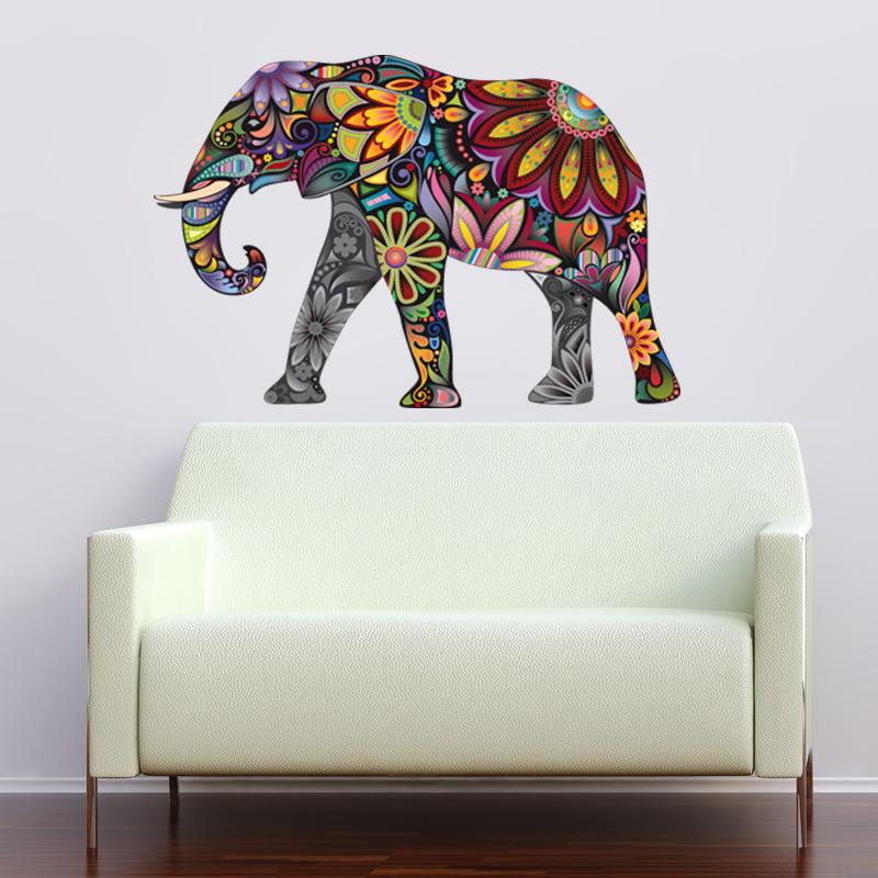 Adesivi follia adesivo murale bambino elefante for Adesivi follia