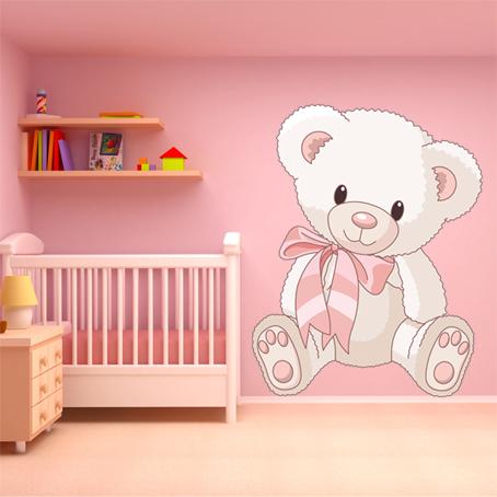 Adesivi follia adesivo murale bambino orsetto for Adesivi follia