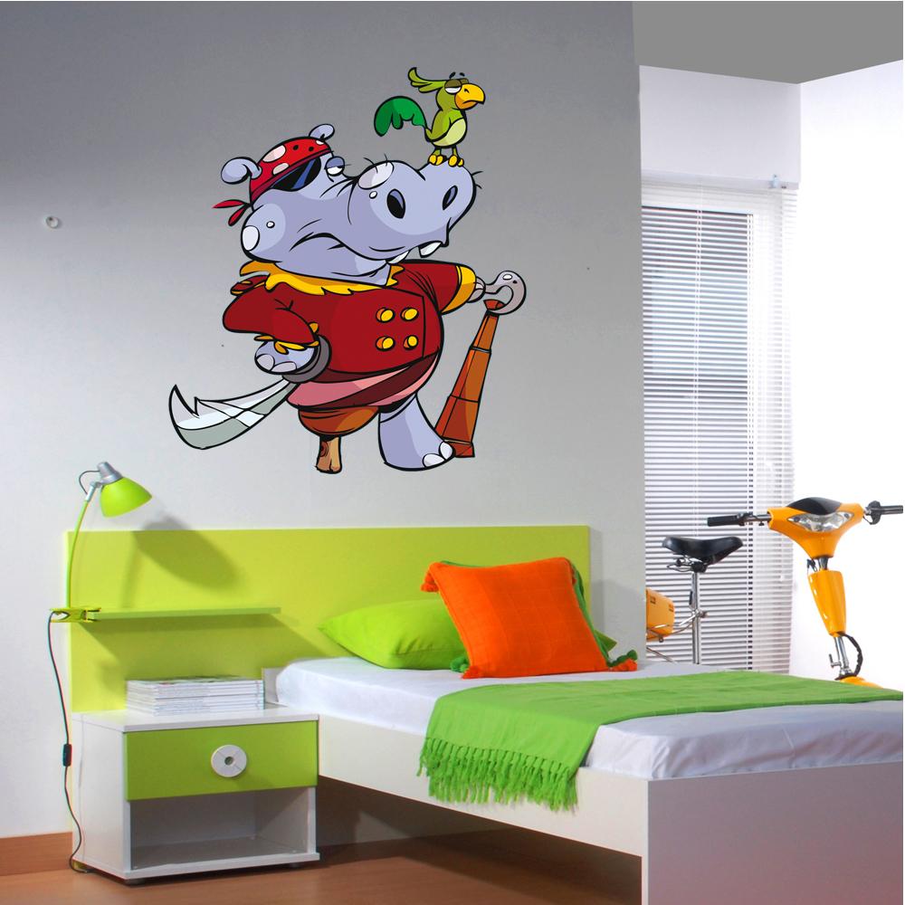 Adesivi follia adesivo murale bambino pirata for Adesivi follia