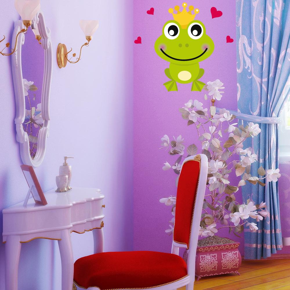 Adesivi follia adesivo murale bambino rospo innamorato for Adesivi follia
