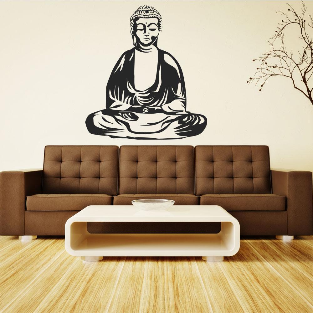Adesivi follia adesivo murale buddha for Adesivi follia