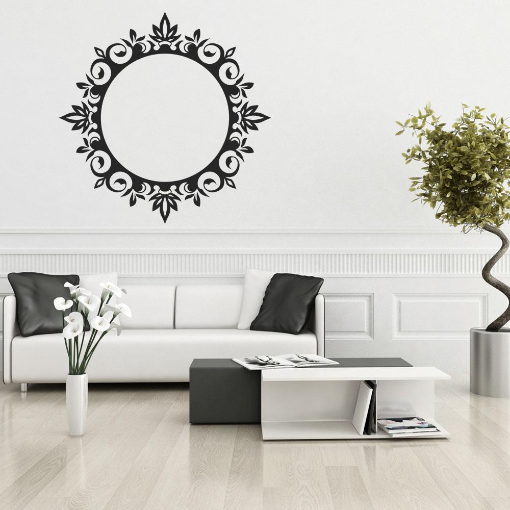 Adesivi follia adesivo murale cornice for Adesivi follia