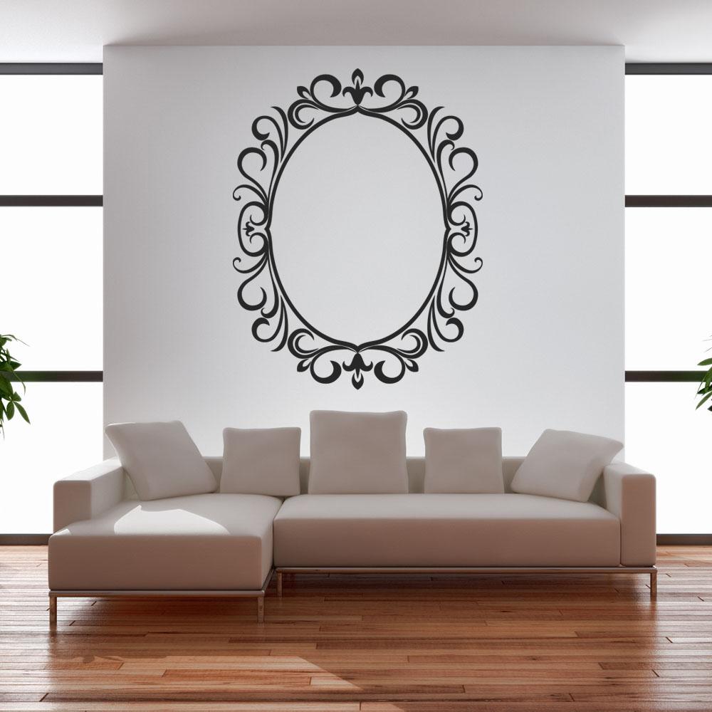 Adesivi follia adesivo murale cornice for Cornice adesiva per pareti