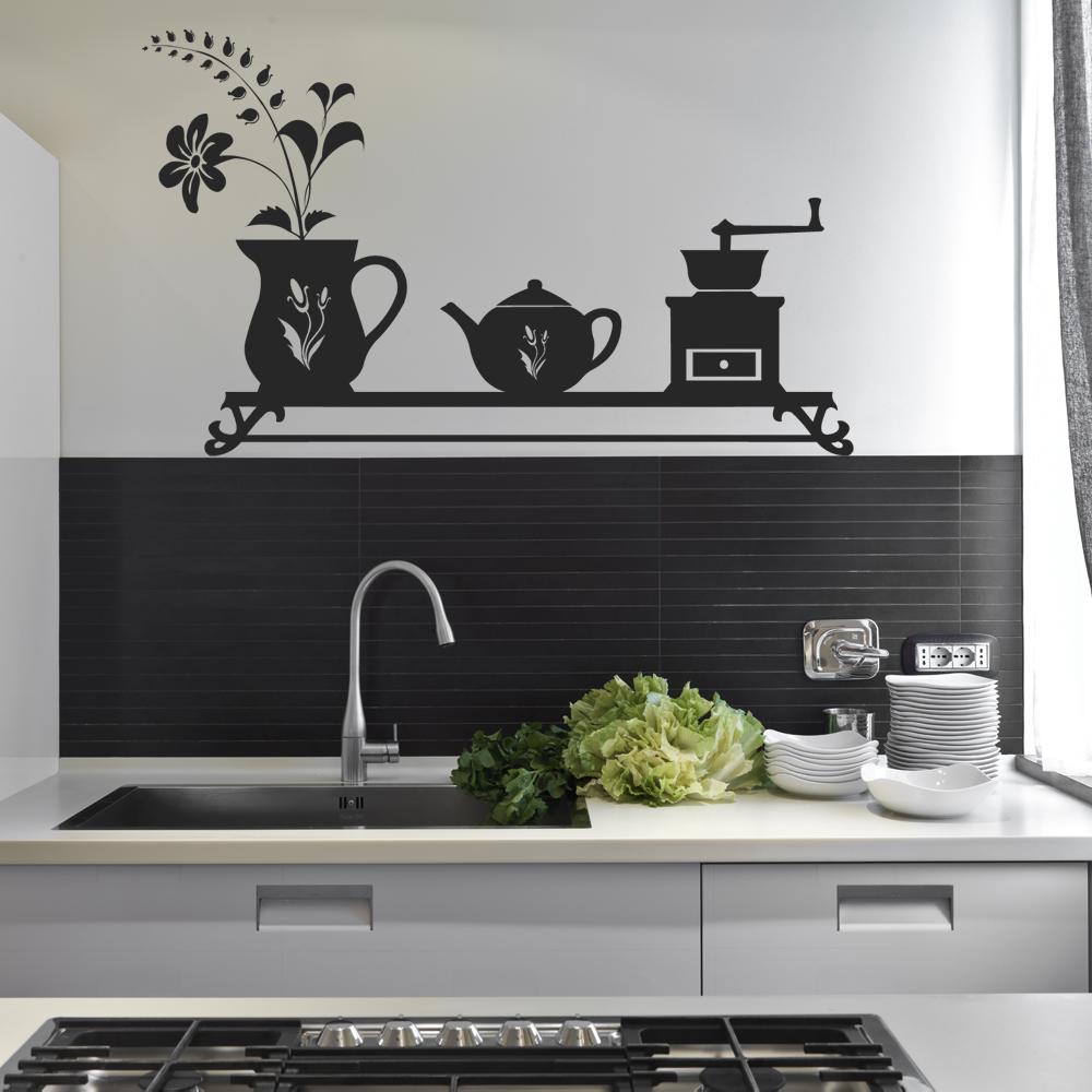 Adesivi follia adesivo murale cucina for Adesivi x cucina