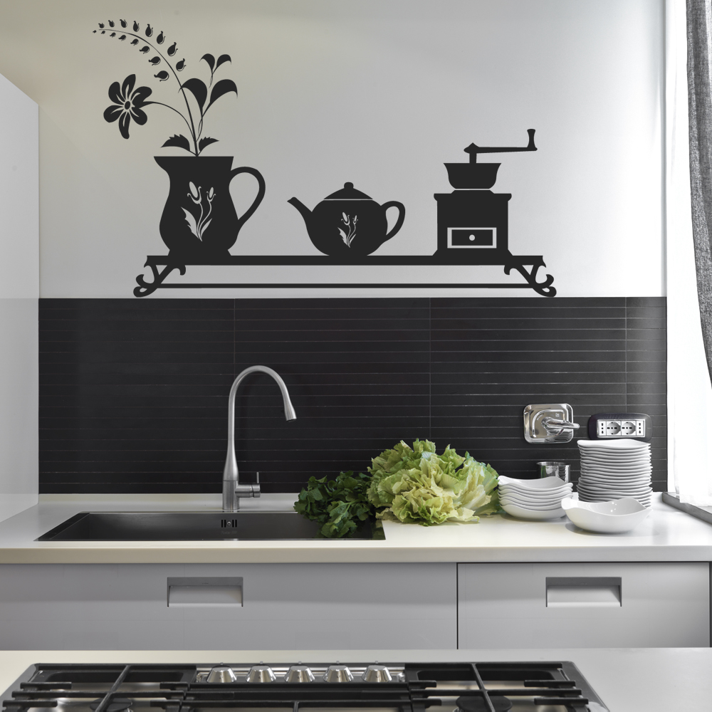 adesivi follia adesivo murale cucina