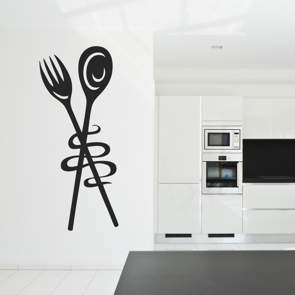 Adesivi follia adesivo murale cucina for Murales per cucina
