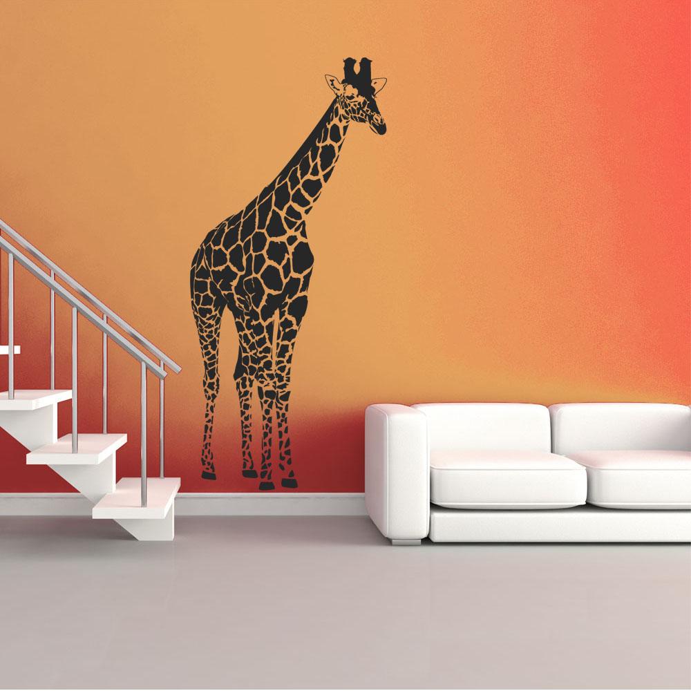 Adesivi follia adesivo murale giraffa for Adesivi follia