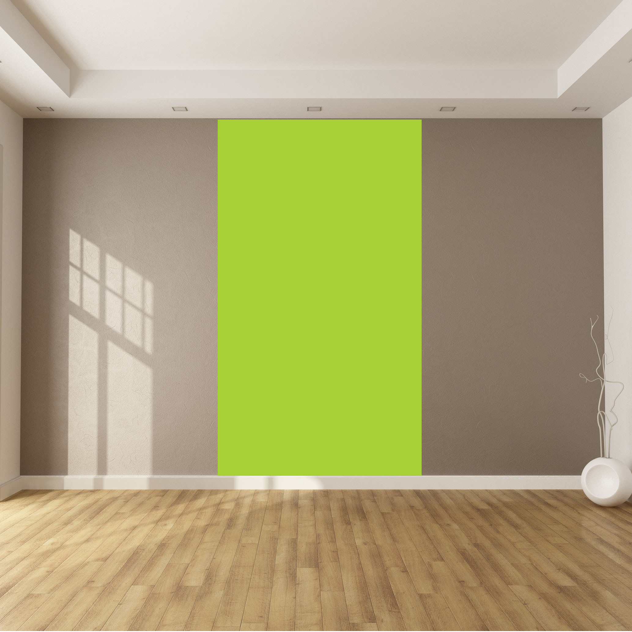 Adesivi follia : Adesivo Murale metro colore Verde mela