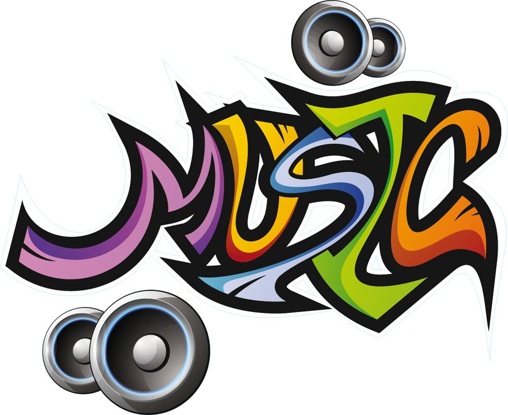 Adesivi follia adesivo murale musica for Adesivi follia