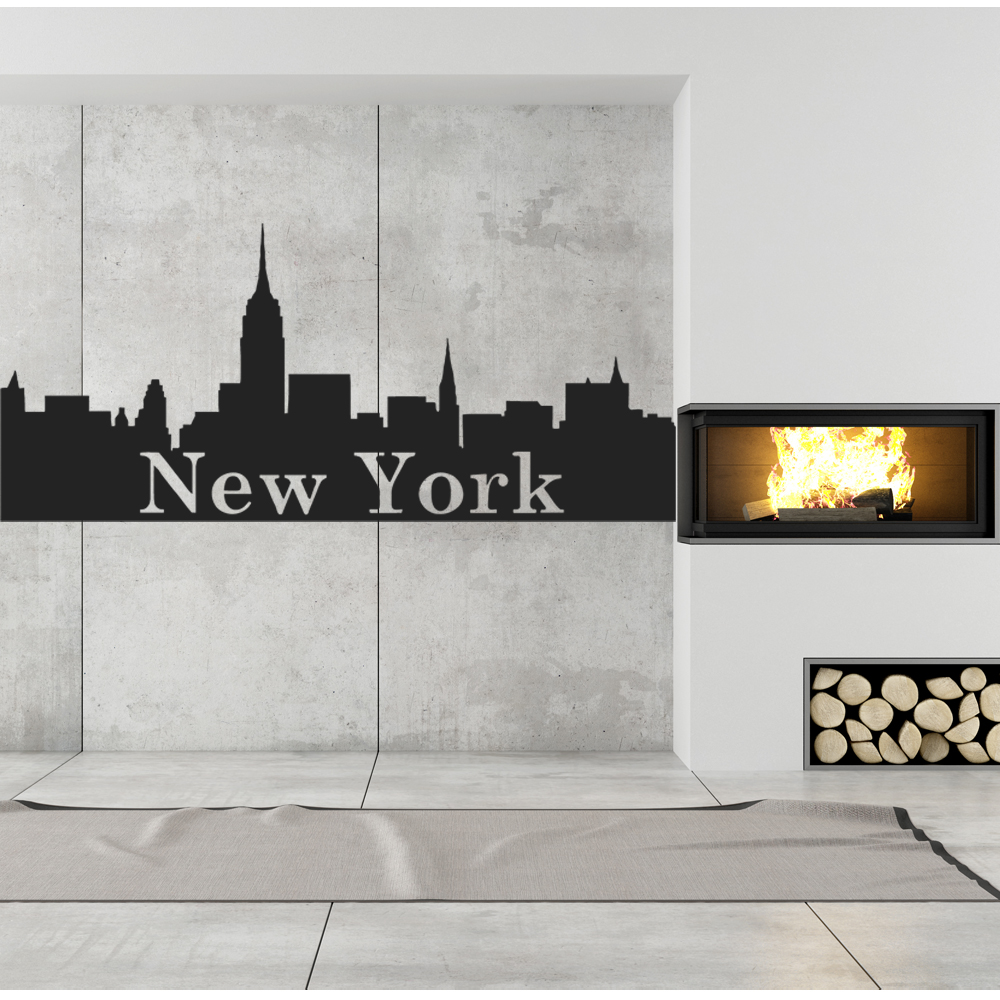 Adesivi follia adesivo murale new york for Decoration murale geante new york