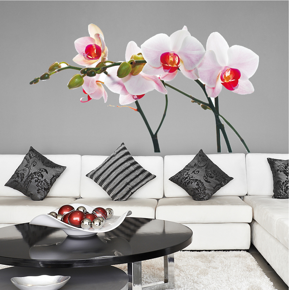 Adesivi follia adesivo murale orchidea for Adesivi follia