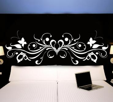 adesivi follia adesivo murale testata letto