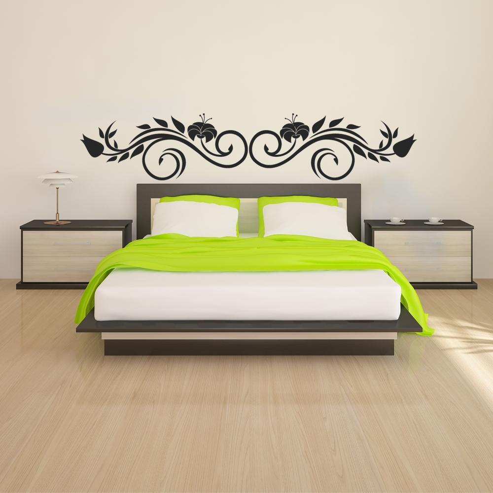 Adesivi follia adesivo murale testata letto - Cuscino testata letto ...