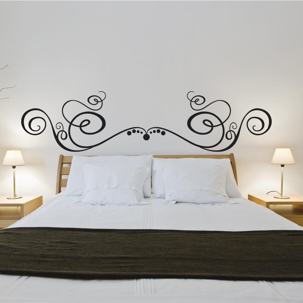 Adesivi follia adesivo murale testata letto - Quadri per testata letto ...
