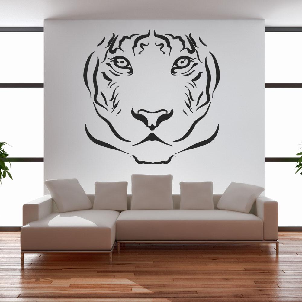 Adesivi follia adesivo murale tigre - Stickers decorativos ...