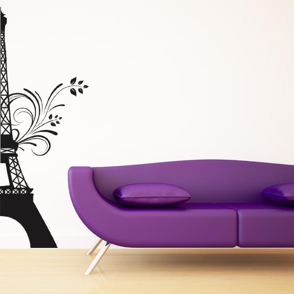 Adesivi Murali Torre Eiffel.Adesivi Follia Adesivo Murale Torre Eiffel