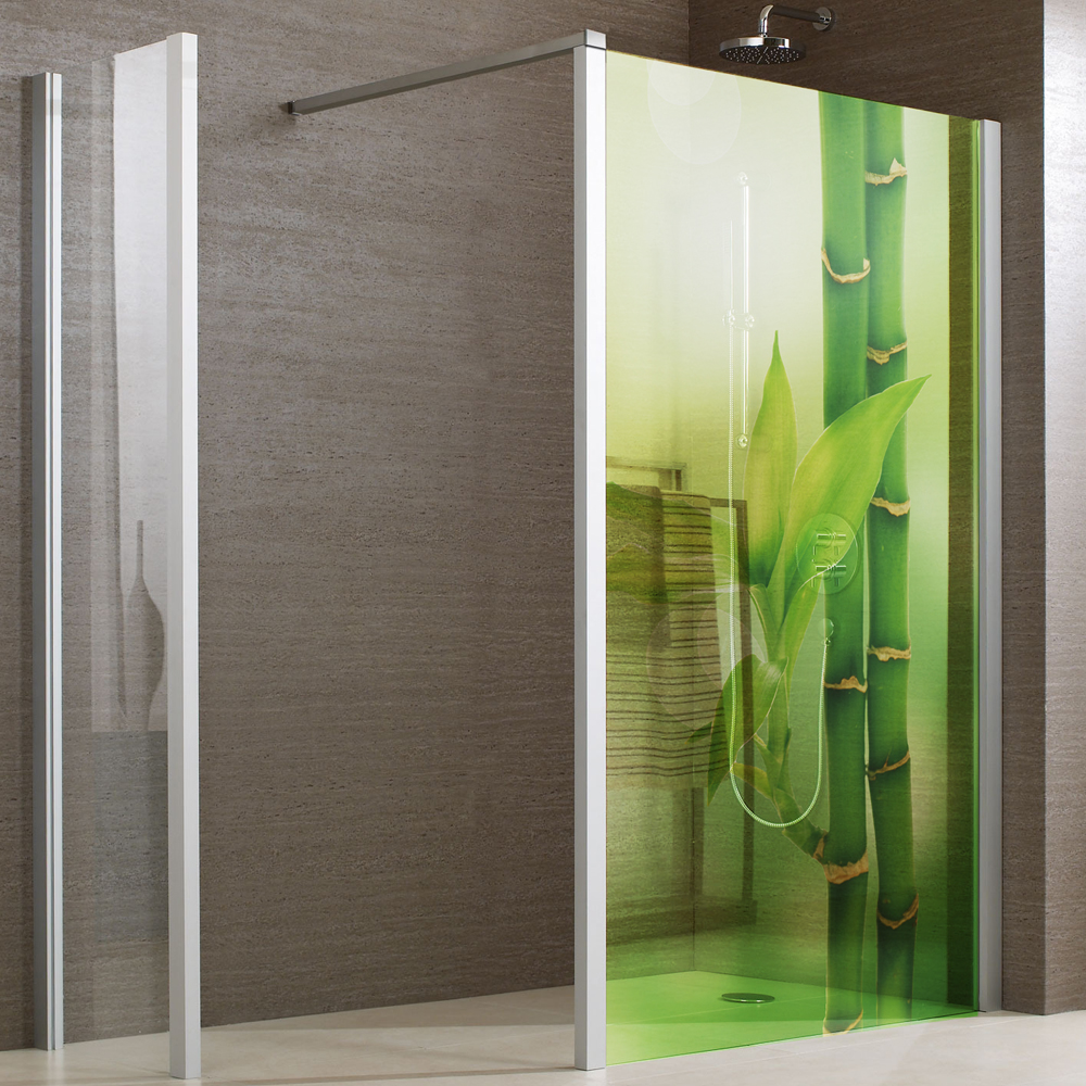 Adesivi follia adesivo per box doccia traslucido bamb - Pellicola per doccia ...