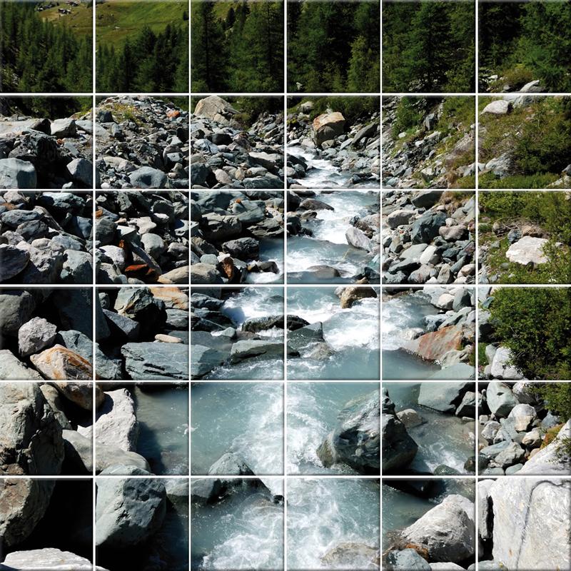 Adesivi follia adesivo per piastrelle fiume - Adesivi decorativi per piastrelle ...