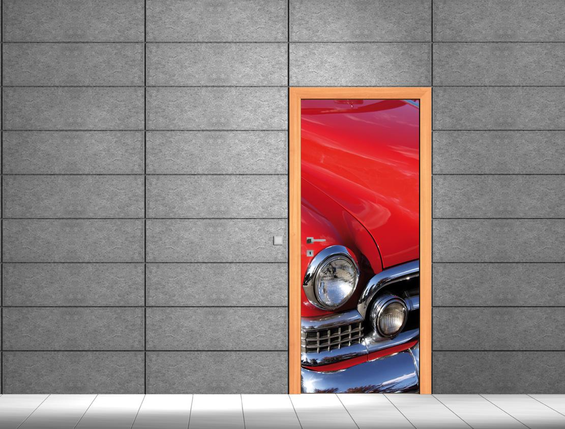 Adesivi follia adesivo per porte auto - Adesivi decorativi per porte ...