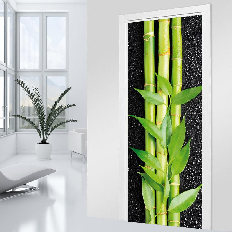 Adesivi follia adesivo per porte bamb - Adesivi decorativi per porte ...