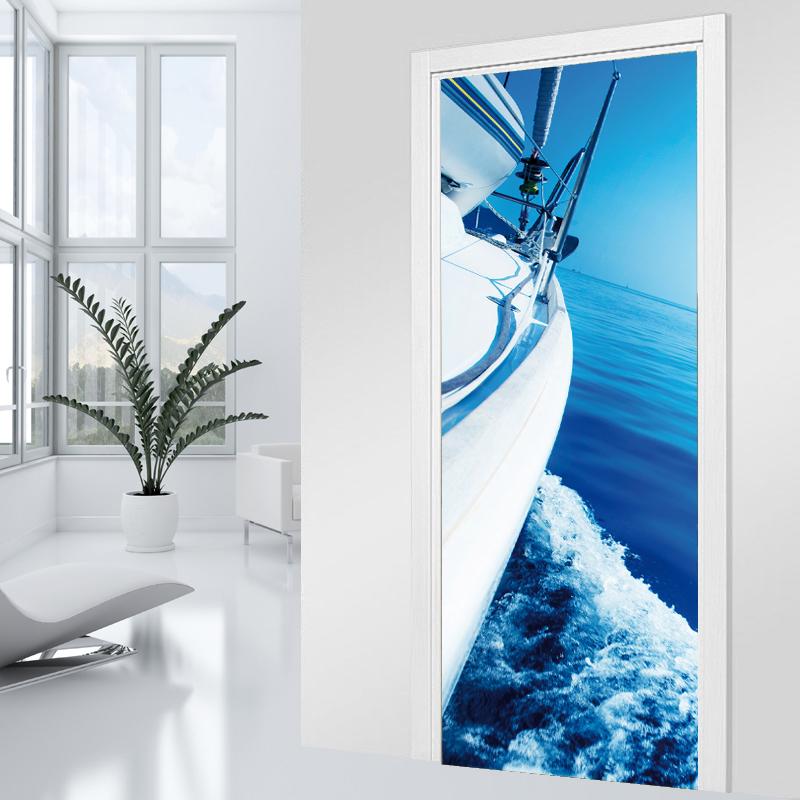 Adesivi follia adesivo per porte barca - Adesivi decorativi per porte ...