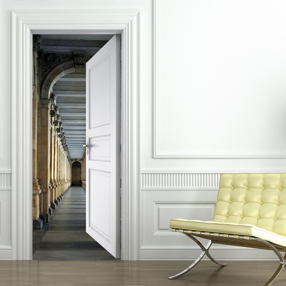 Adesivi follia adesivo per porte corridoio for Specchi adesivi per porte