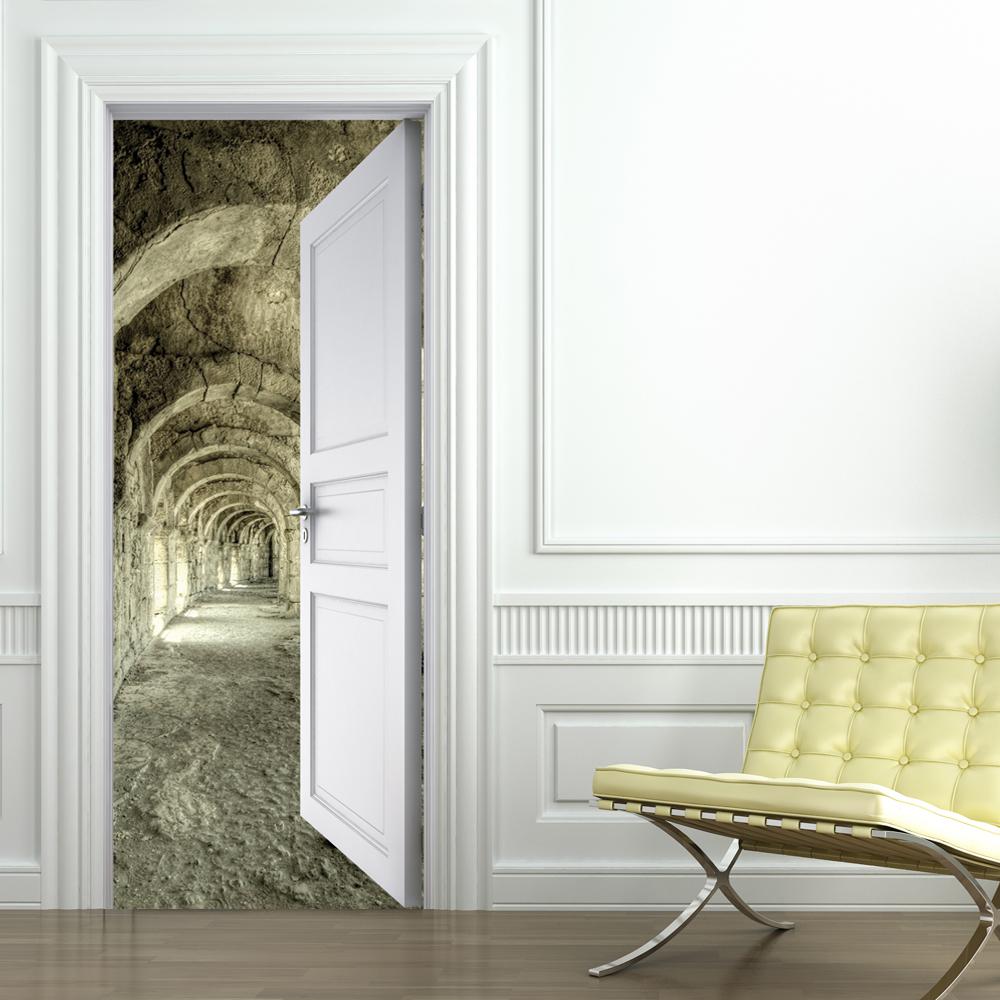 Adesivi follia adesivo per porte corridoio - Adesivi decorativi per porte ...