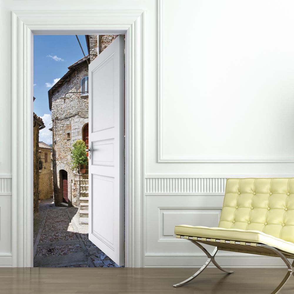 pannelli decorativi per porte : Adesivi follia : Adesivo per porte paese