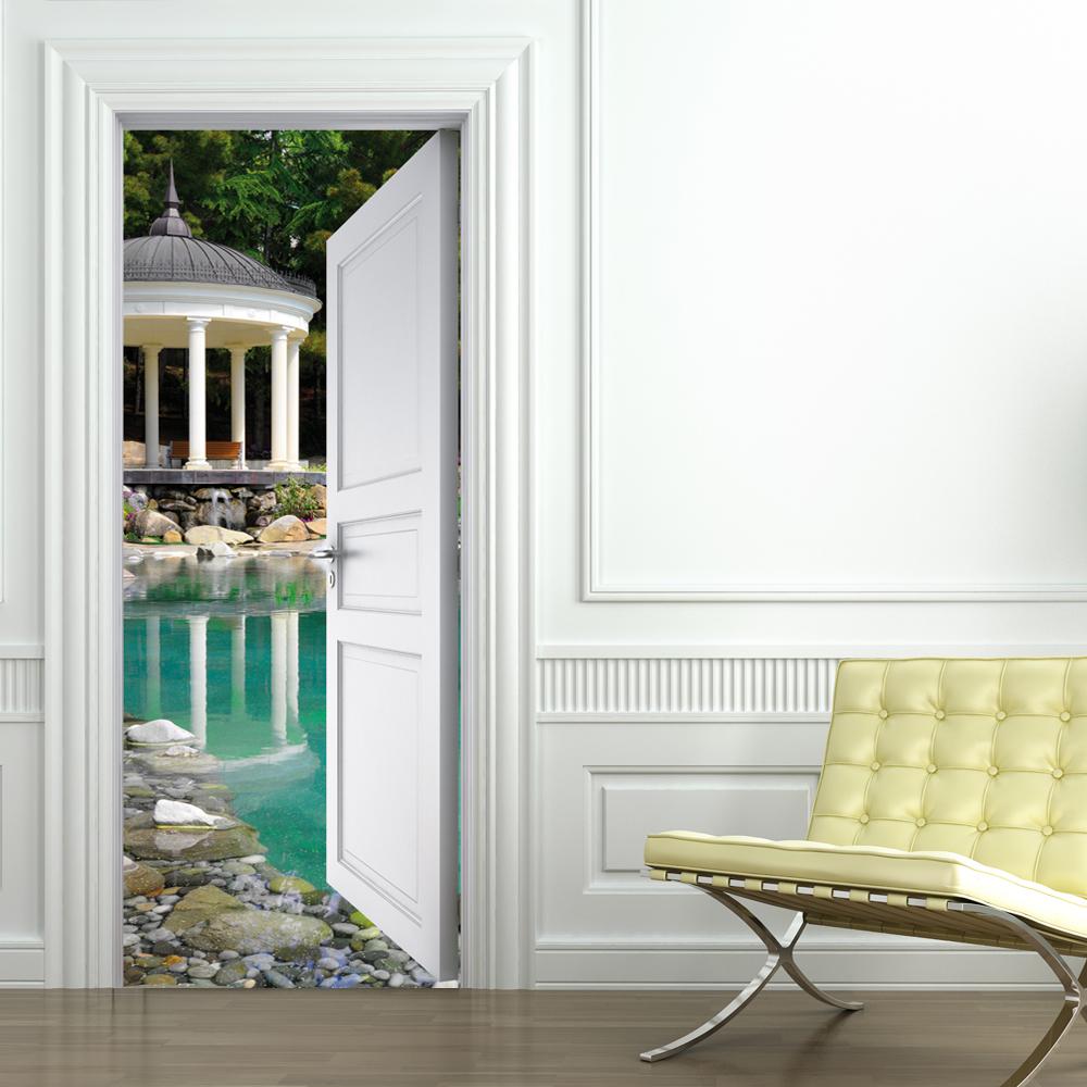 Adesivi follia adesivo per porte piscina - Adesivi decorativi per porte ...