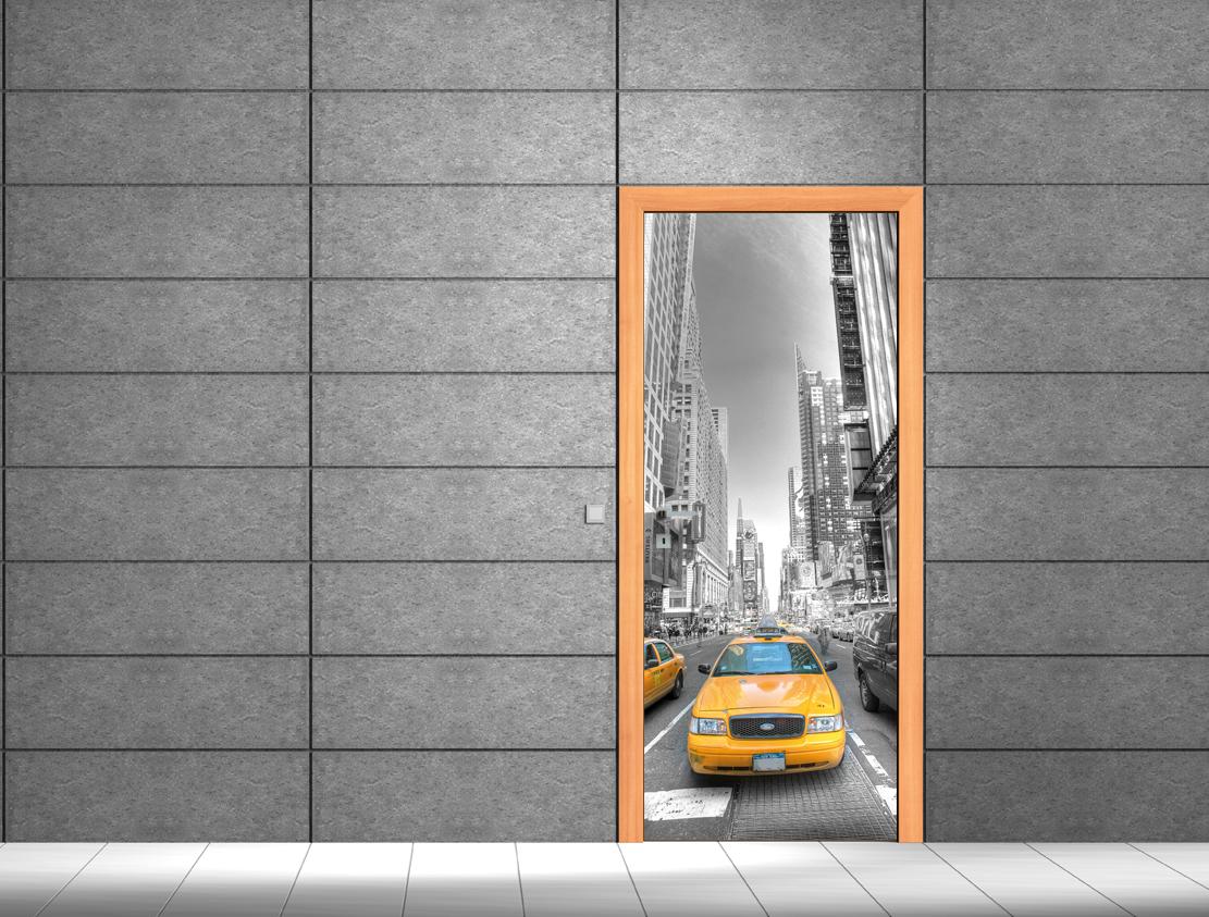Adesivi follia adesivo per porte taxi - Adesivi decorativi per porte ...