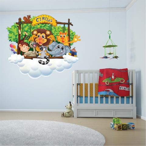 Sticker murali bambini perfect adesivi murali per bambini - Adesivo albero ikea ...