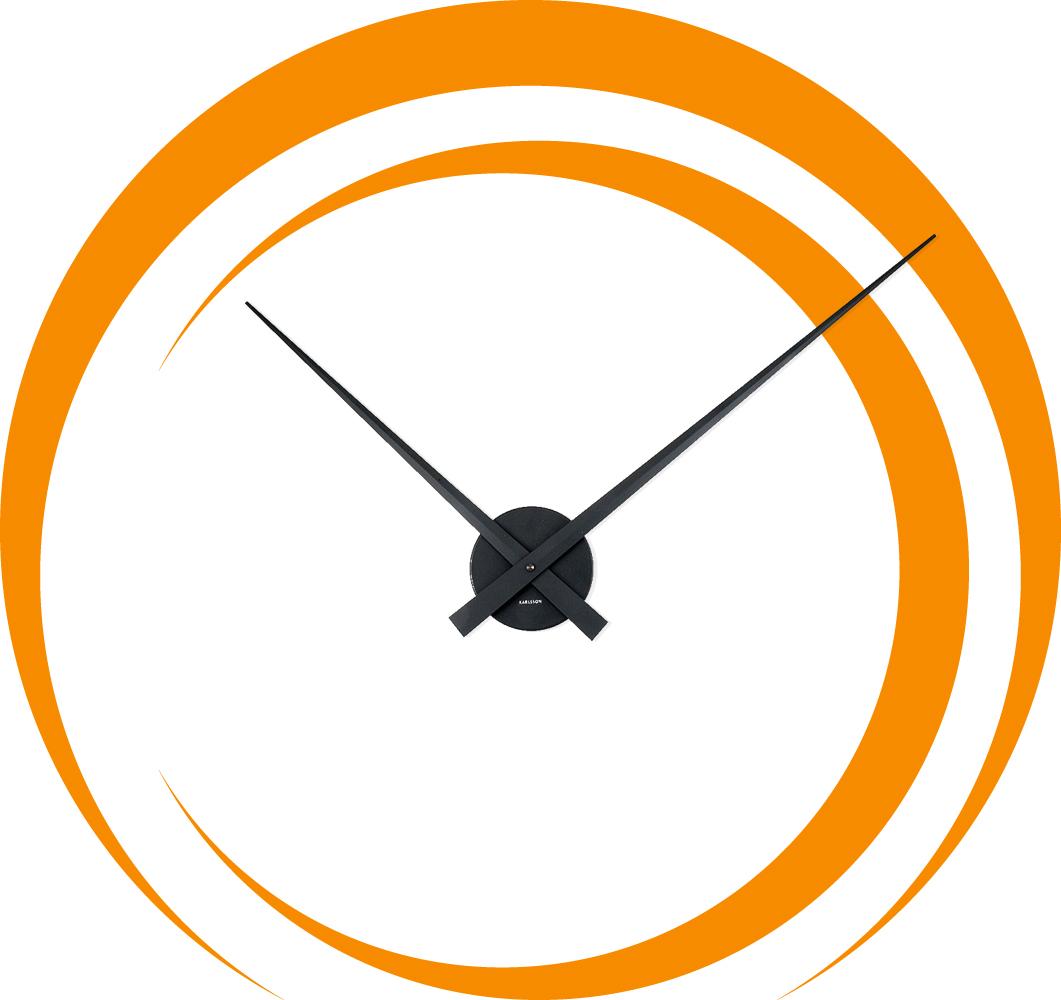 Adesivi follia orologio adesivo spirale for Orologio stickers