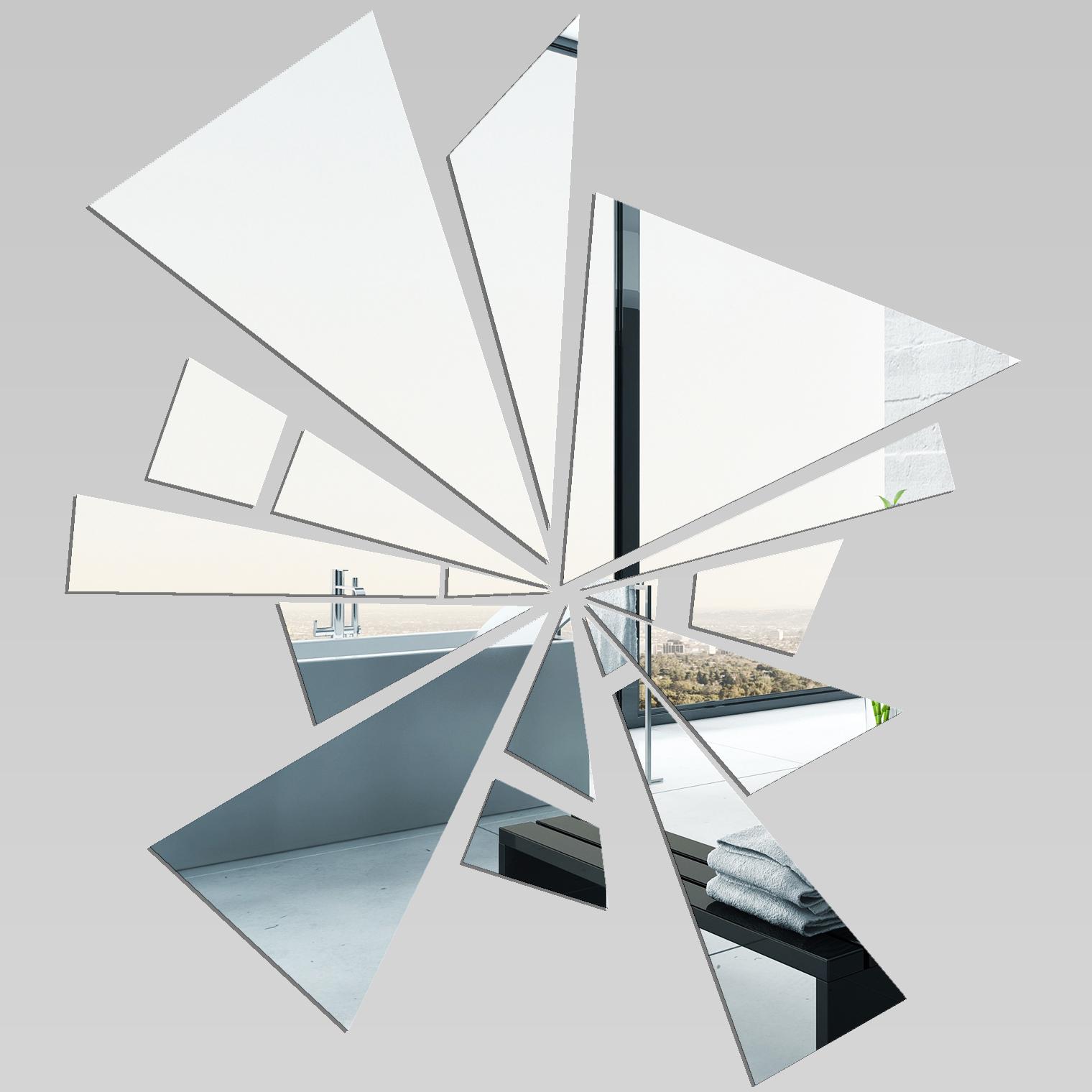 Adesivi follia specchio acrilico plexiglass astratto - Specchio plexiglass prezzi ...
