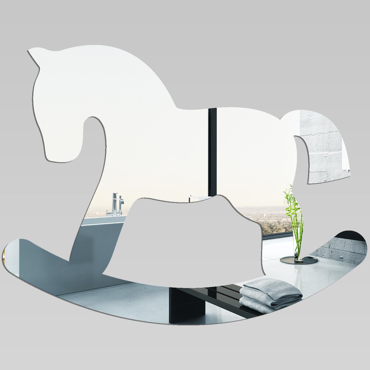 Adesivi follia specchio acrilico plexiglass cavallo a - Plexiglass a specchio ...