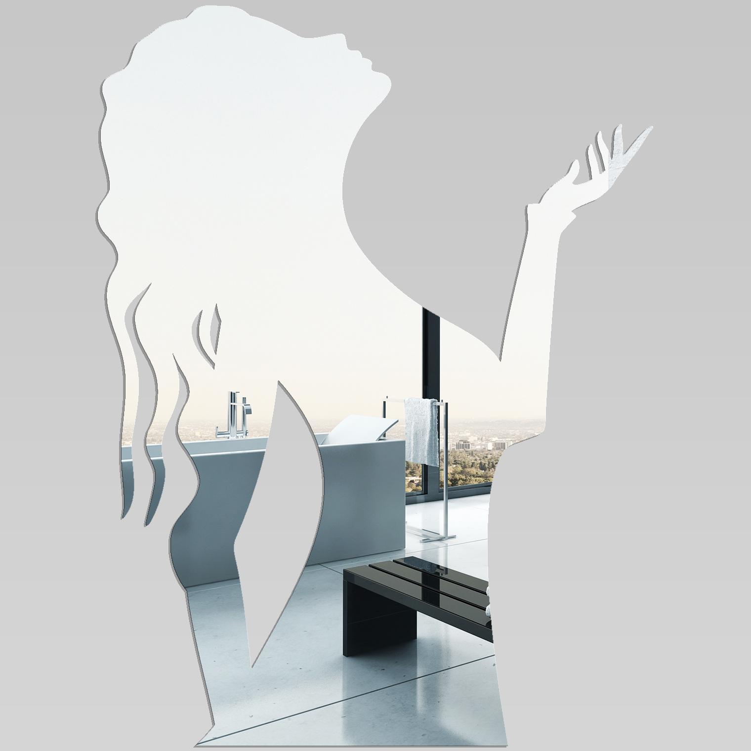 Adesivi follia specchio acrilico plexiglass donna - Specchio plexiglass prezzi ...