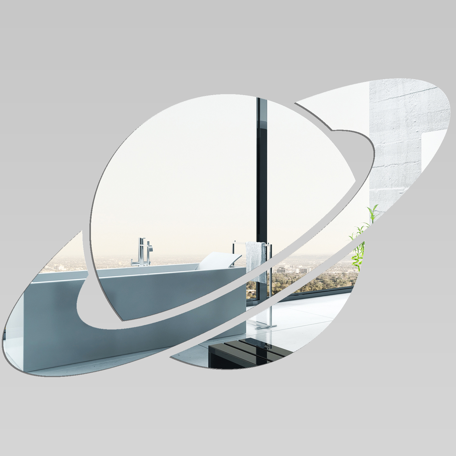 Adesivi follia specchio acrilico plexiglass giove - Plexiglass a specchio ...