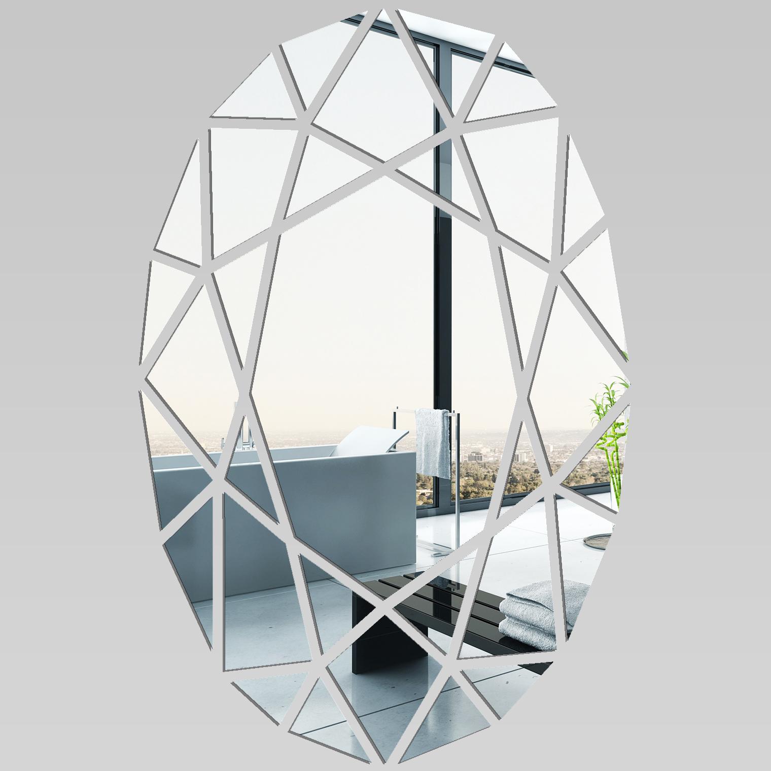 Adesivi follia specchio acrilico plexiglass mosaico - Plexiglass a specchio ...