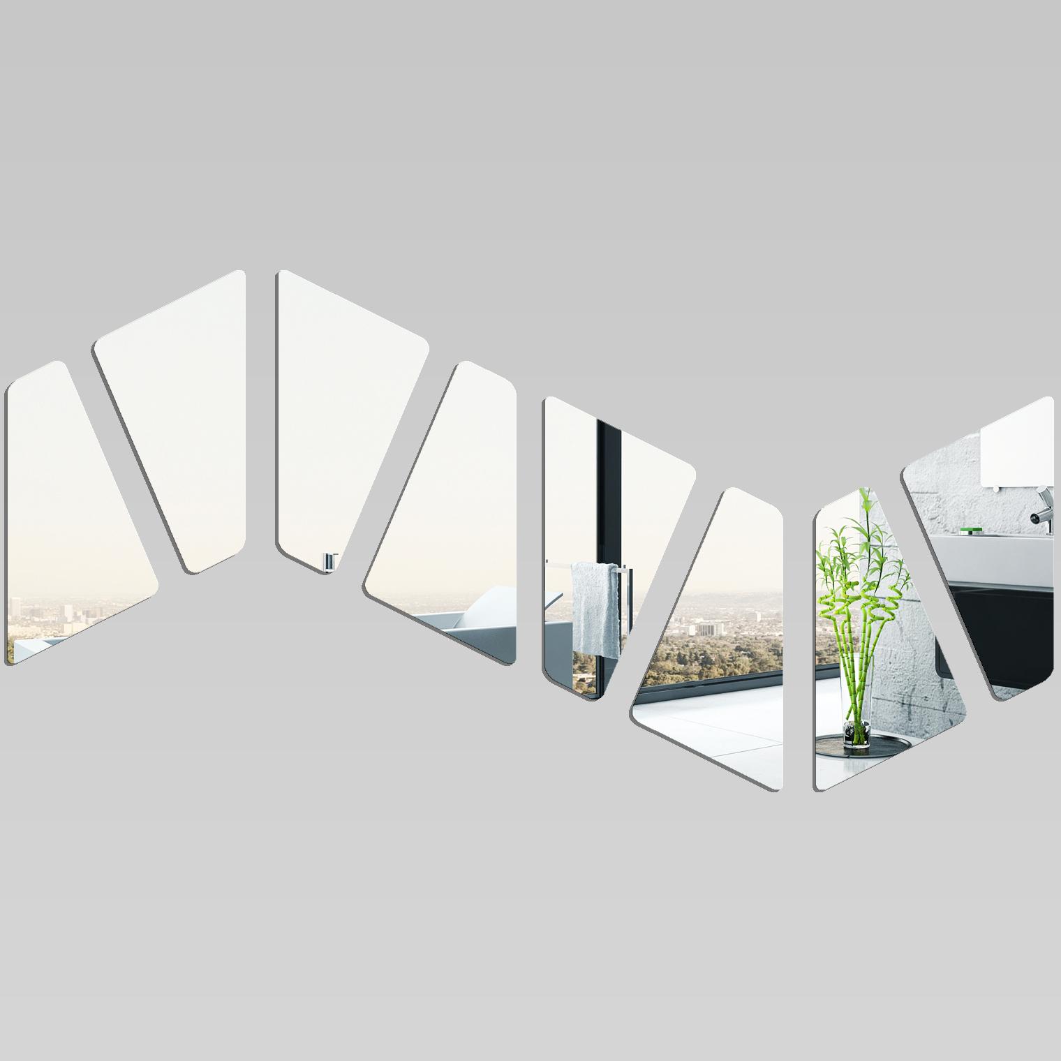 Adesivi follia specchio acrilico plexiglass onda - Specchio plexiglass prezzi ...