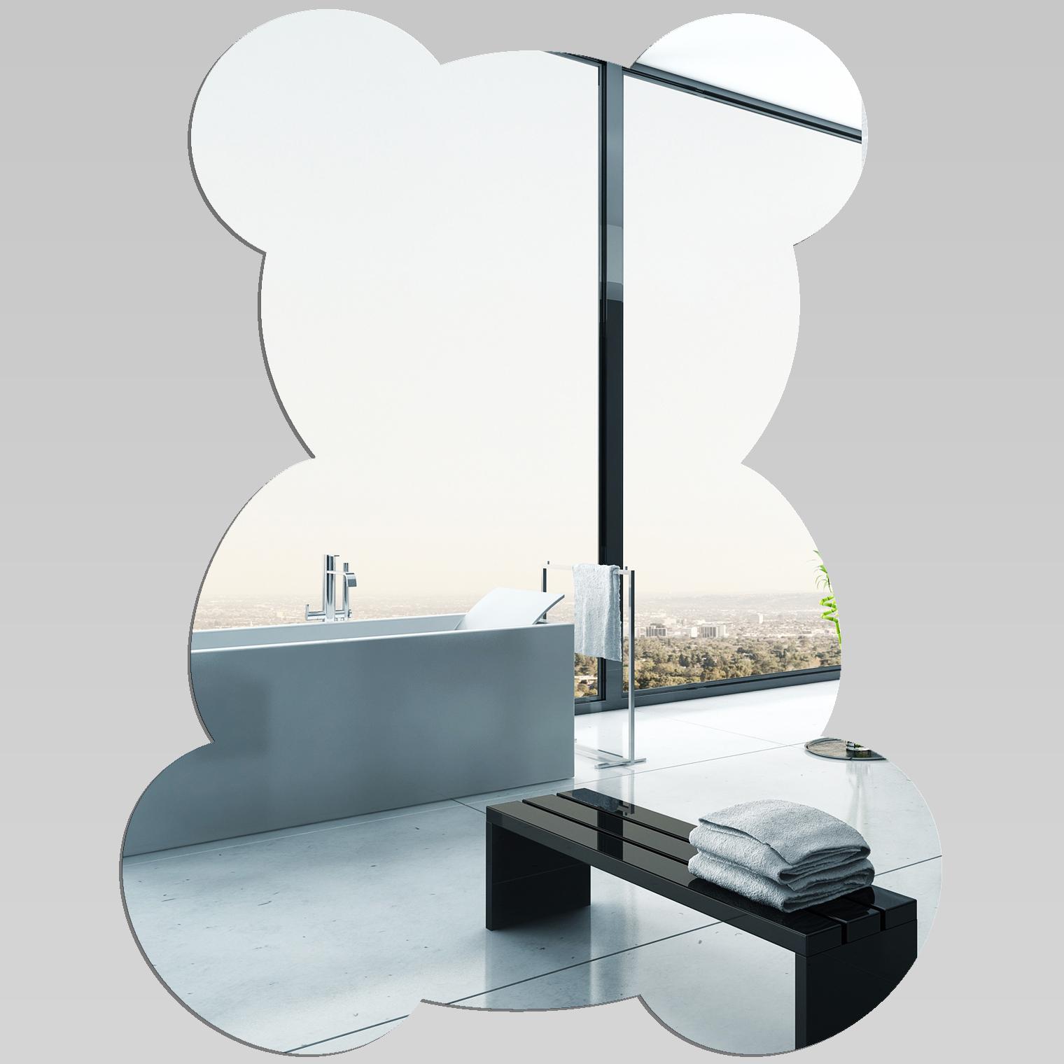 Specchi acrilici great nuovo arrivo fiamma di una candela tableshow testo specchio acrilico - Specchio onda ikea ...
