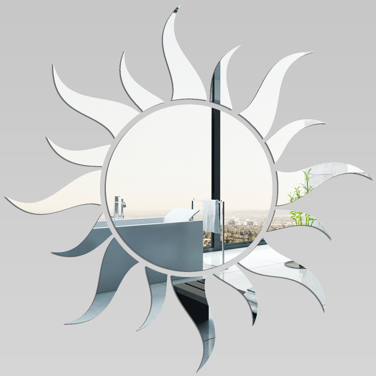 Adesivi Follia Specchio Acrilico Plexiglass Sole