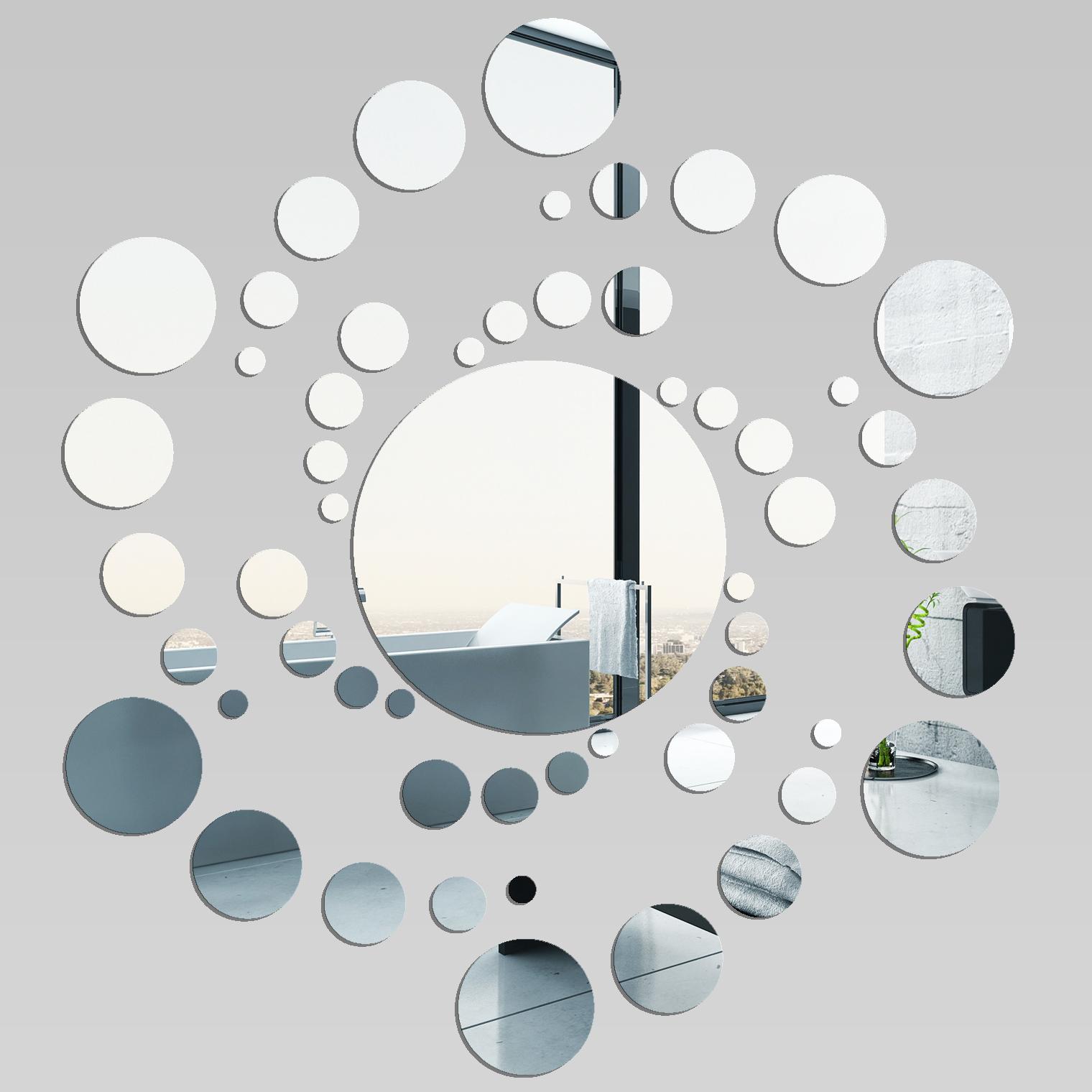 Adesivi follia specchio acrilico plexiglass spirale - Plexiglass a specchio ...